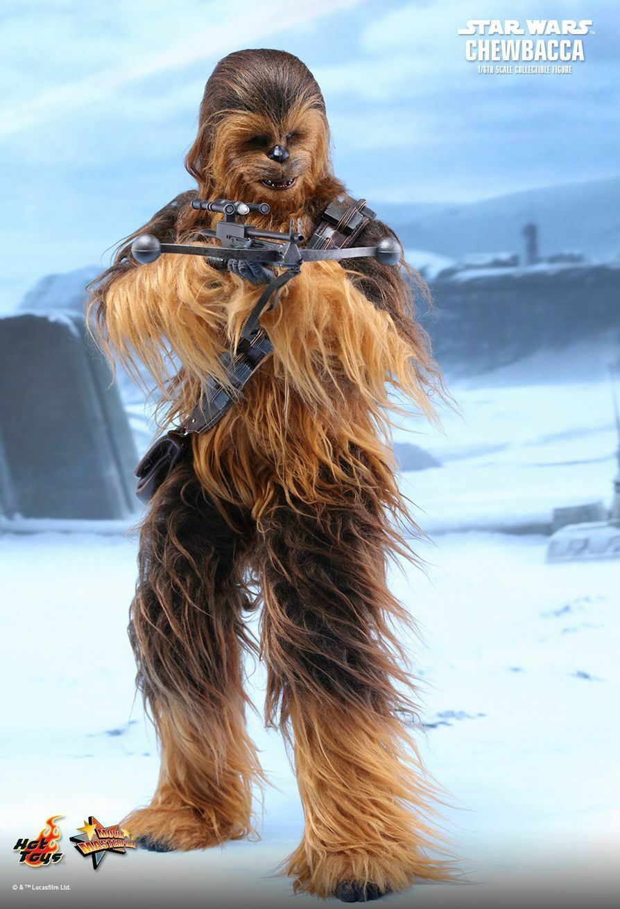 HOT TOYS 1 6 STAR WARS THE FORCE AWAKENS MMS375 CHEWBACCA MASTERPIECE FIGURE
