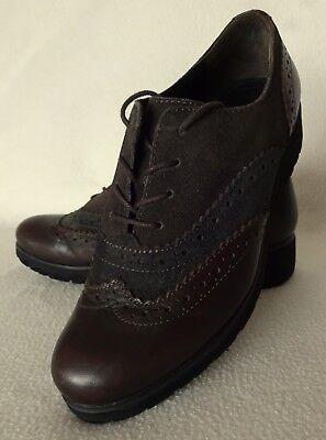 """""""gabor"""" Damen Schuhe,halbschuhe Gr. 3(ca. 351/2), Np: 99,95 €, Braun, Echt Leder"""