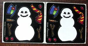 NEW-SMILEMAKER-BUILD-A-SNOWMAN-WINTER-SNOW-SCRAPBOOKING-CRAFT-CARD-STICKERS-SET