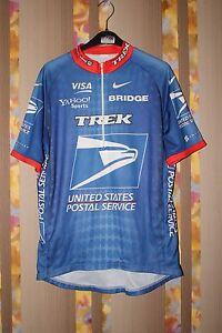 USPS USA NIKE TREK VISA CYCLING JERSEY SHIRT TOUR DE FFRANCE ... de0e16784