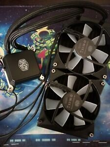 Cooler Master Water Cooling Systems Masterliquid Lc120e Rgb All In One Cpu With 884102045561 Ebay