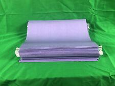 Violetpurple Hanging File Folders 15 Tab 11 Point Stock Letter Purple 25box