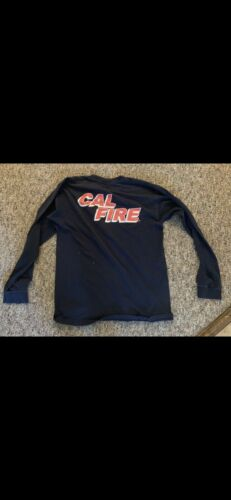 Cal Fire Fire Department L Long sleeve t Shirts