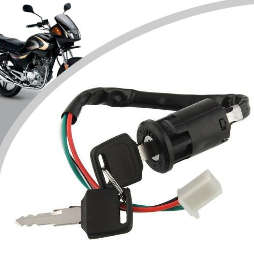 NEW For Motorcycle ATV off-road Vehicles 4 Wire Ignition Switches With 2 Keys GA