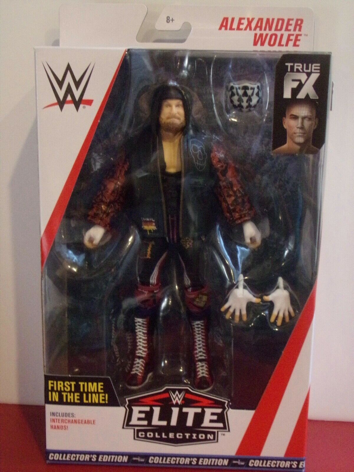 NEW WWE Elite Alexander Wolfe SAnitY Target Exclusive RARE Wrestling Figure