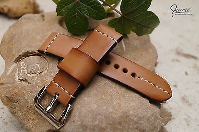 Panerai Strap watch band Genuine leather Any size Available Tan