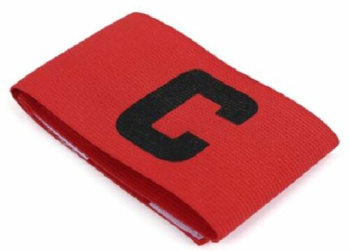 loop  Football Rugby Hockey Arm Captain/'s Armband Various Colours Elastic hook