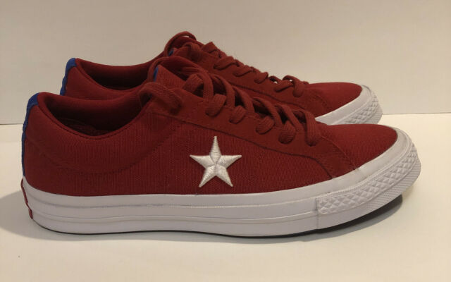 pronóstico Caramelo combate  Converse One Star Premium Low Top White Men Classic Shoes SNEAKERS 155547C  8 for sale online | eBay
