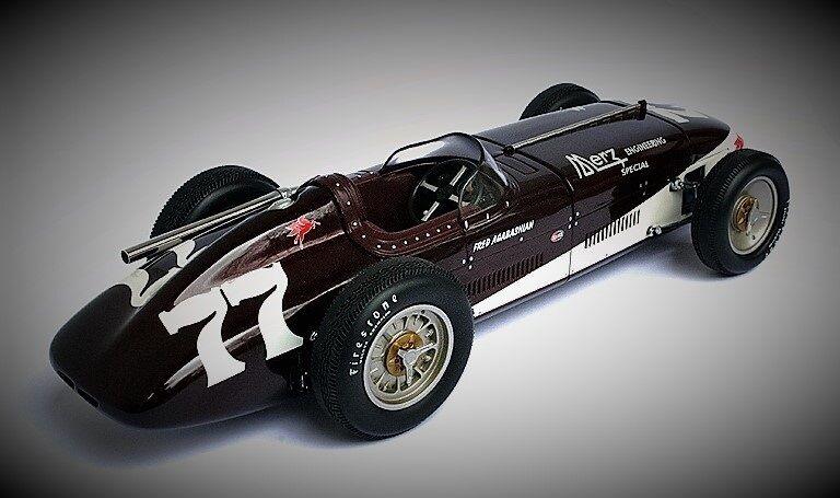 Entrega rápida y envío gratis en todos los pedidos. 1 Vintage Grand Prix F 1950s Racer Racer Racer Race Coche Sport Ford 12 Indy 43 500 40 24 18 GT 1966  salida de fábrica