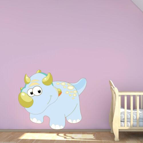 BABY DINOSAUR STEGOSAURUS Kid/'s Wall Art Sticker Bedroom Nursery Decal