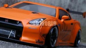 1-10-RC-Car-Body-Shell-NISSAN-SKYLINE-GT-R-R35-LB-Performance-DRIFT-BODY