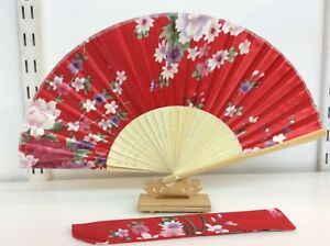 Japanese-Silk-Hand-Fan-Floral-Design-with-Silk-Fan-Holder-T01-T02