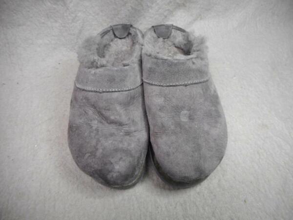Aggressivo Donna Camoscio Maglia Pantofole Foderate Taglia 8 M Usati N/r Il Massimo Della Convenienza