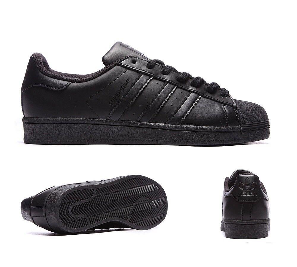 Homme adidas superstar noir baskets-