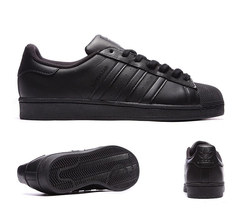 Zapatillas para hombre Adidas Superstar negro negro Superstar 9c51a6