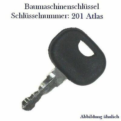 3643912 Zündschlüssel 201 passend  für Atlas Nr