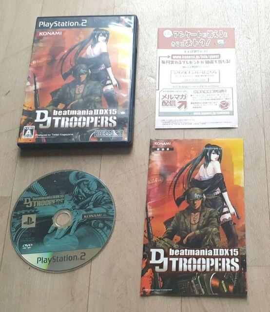 Beatmania IIDX 15 DJ Troopers - Sony Playstation PS2 - NTSC-J JAP JAPAN - TBE