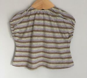 Caramel Baby amp Child London Striped Tshirt Top Size 06 Months BNWOT Lilac - Reading, Berkshire, United Kingdom - Caramel Baby amp Child London Striped Tshirt Top Size 06 Months BNWOT Lilac - Reading, Berkshire, United Kingdom
