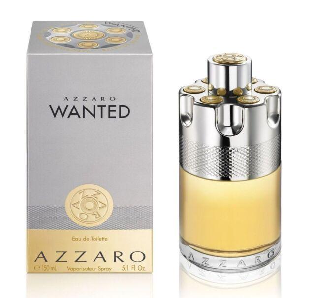 AZZARO WANTED 150ML EDT MEN NEW SEALED BOX.