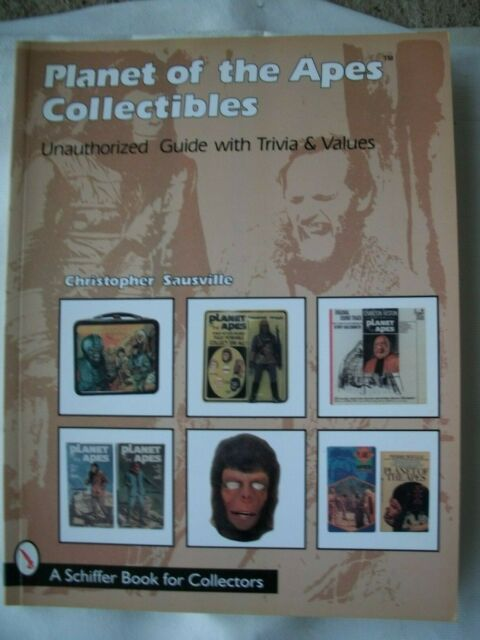 Book Planet of the Apes Collectibles Trivia and Price Guide by Sausville