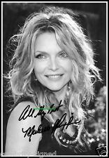 Michelle Pfeiffer, Signed, Limited Edition, 100% Pure Cotton Canvas. (3148-a5)62