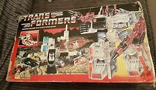 Hasbro G1 Transformers Heroic Autobot Battle Station Metroplex 1985 Toy Boxed