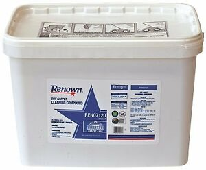 RENOWN® DRY CARPET CLEANING COMPOUND 20 LB. BUCKET