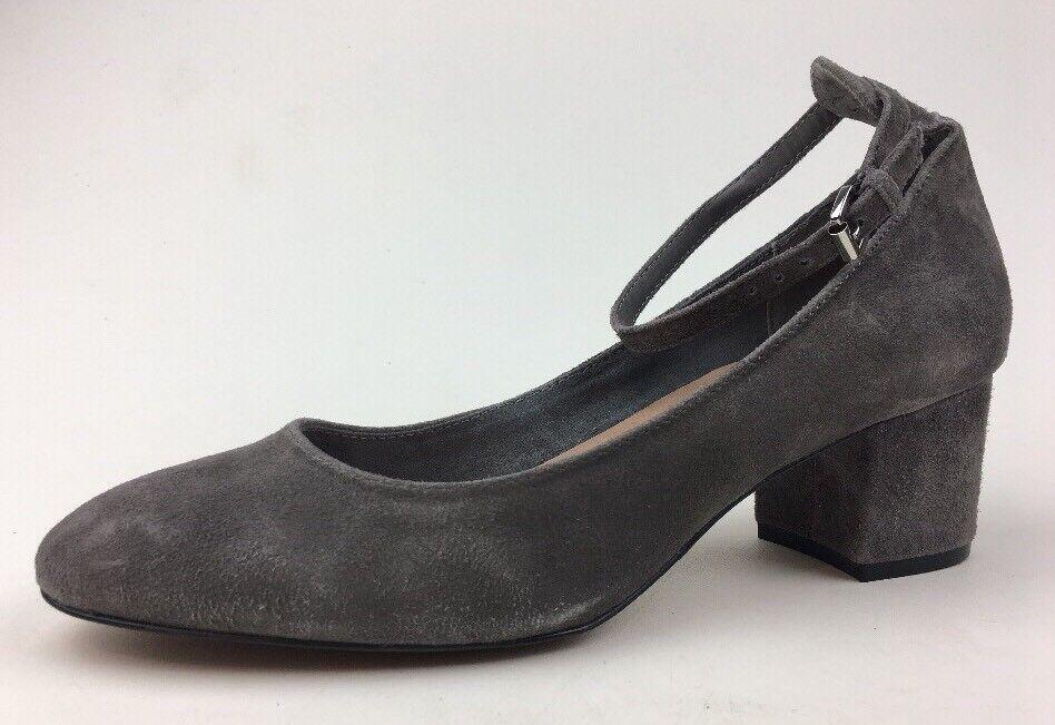 STEVEN by Steve Madden Women's Vassie Closed Toe Heels Size 10M, Grey Suede 680