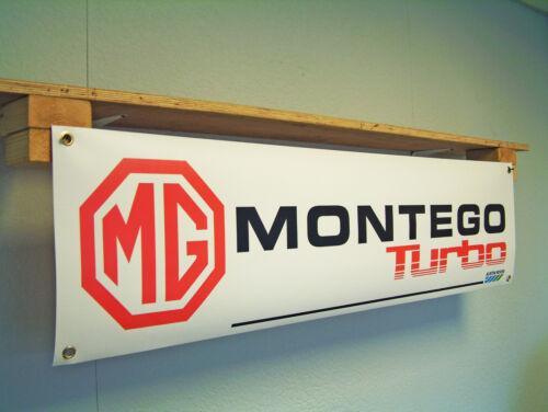 MG Montego Turbo BANNER Automotive Workshop Garage Car Show Austin Rover Leyland
