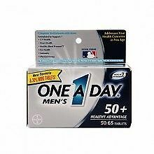One A Day Men's 50+ Advantage Multivitamins, 65 Count - EXP 4/17