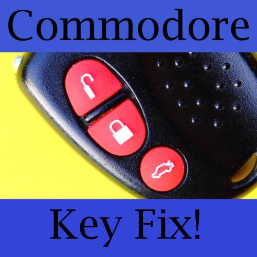 Holden Commodore Key Buttons VS VT VX VY VZ Red Set
