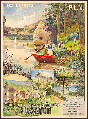 Geneva Switzerland Sailboat Europe European Vintage Travel Poster Advertisement