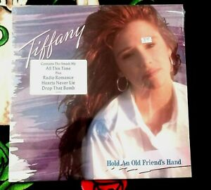 TIFFANY HOLD AN OLD FRIEND'S HAND VINYL LP SEALED!!!!!  1988 ALL THIS TIME ..