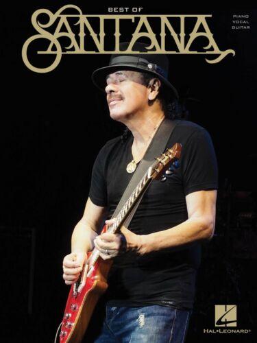 Best of Santana Sheet Music Piano Vocal Guitar SongBook NEW 000173680