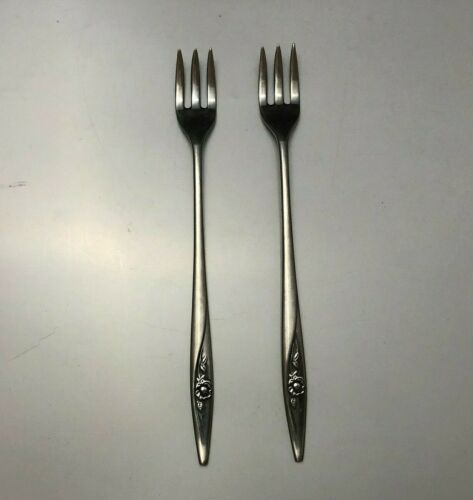 Oneida LASTING ROSE Oneidacraft Deluxe Stainless Glossy Flatware Floral CHOICE