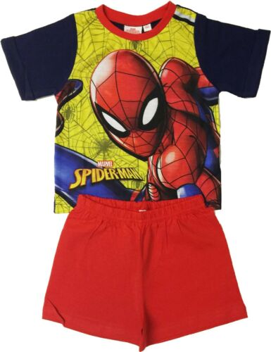 Kids Boys Spider-Man or Fireman Sam Pyjamas Pjs Can Be Personalised With Name