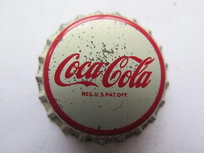 Vintage 1980s Coke Coca-Cola Soda Bottle Cap Top Ad Collectible Pin New NOS