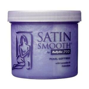 BaByliss-Pro-Satin-Smooth-Pearl-Wax-Waxing-Lotion-With-Lavender-amp-Calendula-425g