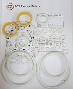 Details about 1978 Game Plan Rio Pinball Machine Rubber Ring Kit