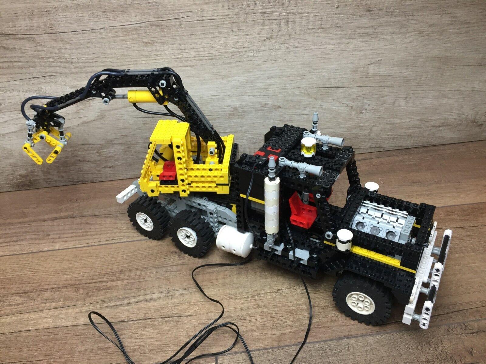 Lego 8868 Airtech claw Rig Pneumatic GRUE CRANE Technic Technique