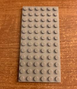 LEGO Piece 12 x 6 Light Grey Base Plate