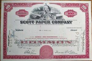 Kirby Lumber Company Stock Certificate