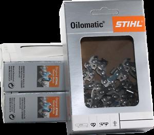 3 Stihl Sägeketten Picco Micro 3/8P-1,1-50 für Stihl E10 35cm 3610 000 0050