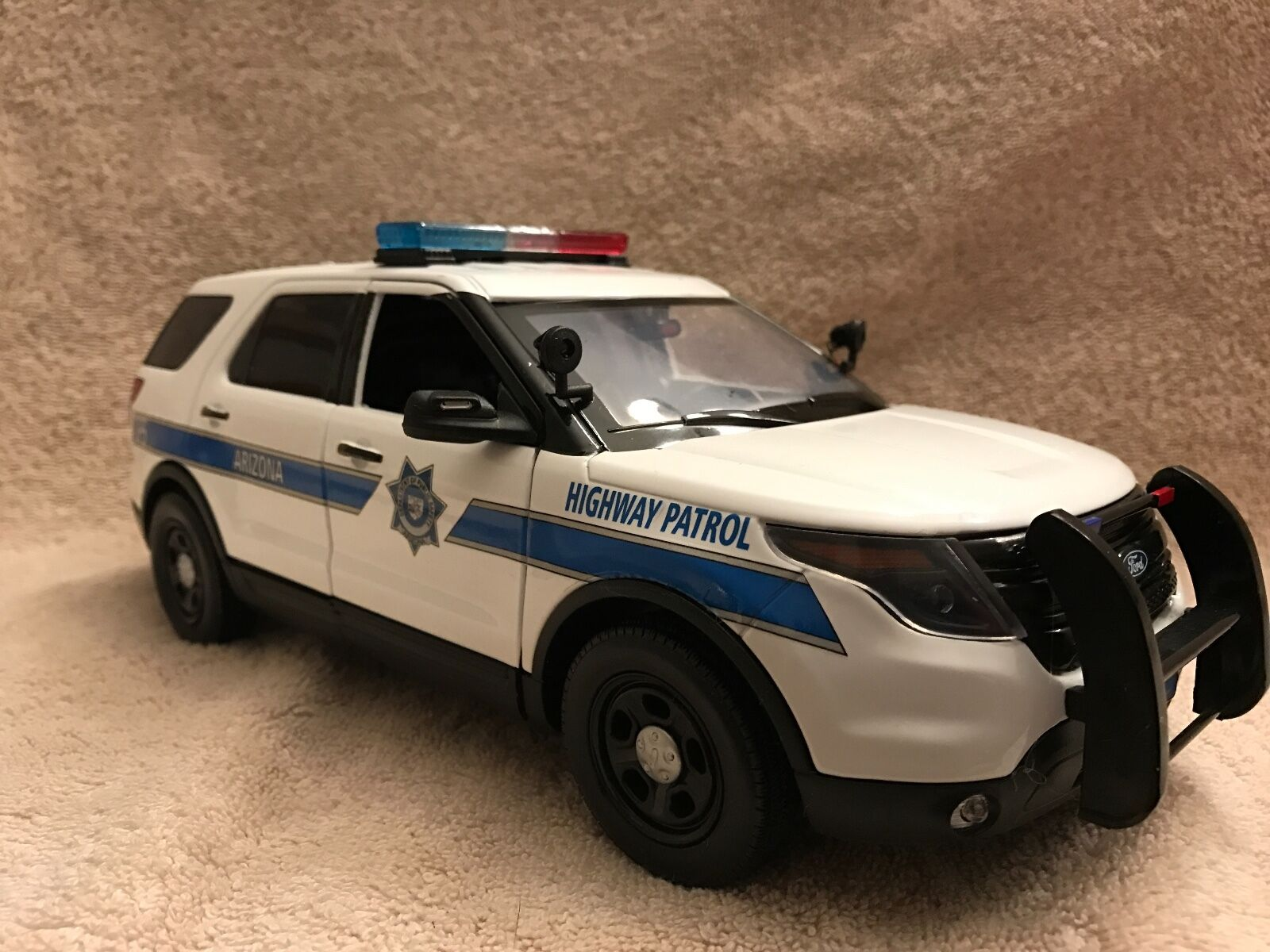 Échelle 1 18 Arizona DPS Hwy Patrol FD PD vus UT Diecast with Working Lights Sirène