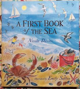 A-First-Book-of-the-Sea-by-Nicola-Davies-c2018-NEW-Hardcover