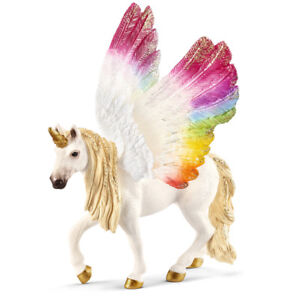 Schleich Bayala Winged Rainbow Unicorn 70576 NEW
