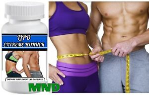 Details About Lipo Extreme Burner Weight Loss Tummy Slimming Fat Reduction Pills Fast Results