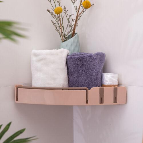 1Pcs Bathroom Kitchen Shower Shelf Triangular Wall Corner Rack Organizer Holder