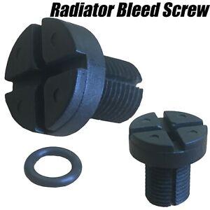 2x-Radiator-Hose-Bleed-Vent-Screw-Seal-For-BMW-E30-E39-E46-E81-E87-E90-E91-X3-X5