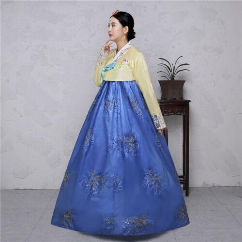 Hanbok Dress Korean Traditional Hanbok Korean National Costumes Woman Hanbok